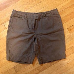 Loft Olive Green Shorts